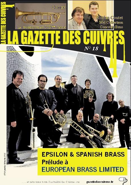 La Gazette des Cuivres N°18 est sortie !!!