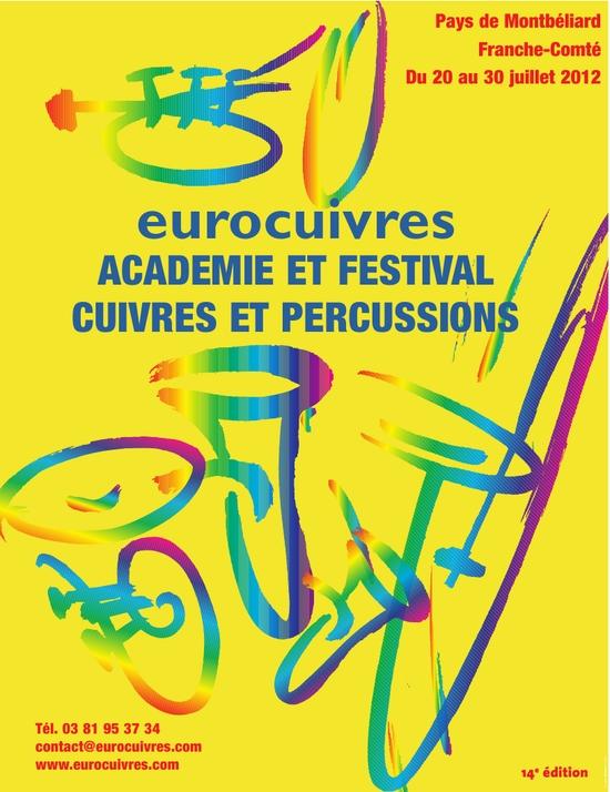 Eurocuivres 2012 du 20 au 30 juillet…