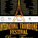 International Trombone Festival Paris -Juillet 2012