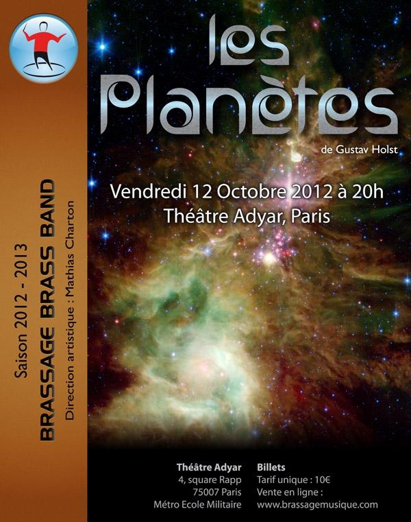 Brassage Brass Band: concert le vendredi 12/10/2012, Théâtre Adyar, Paris.