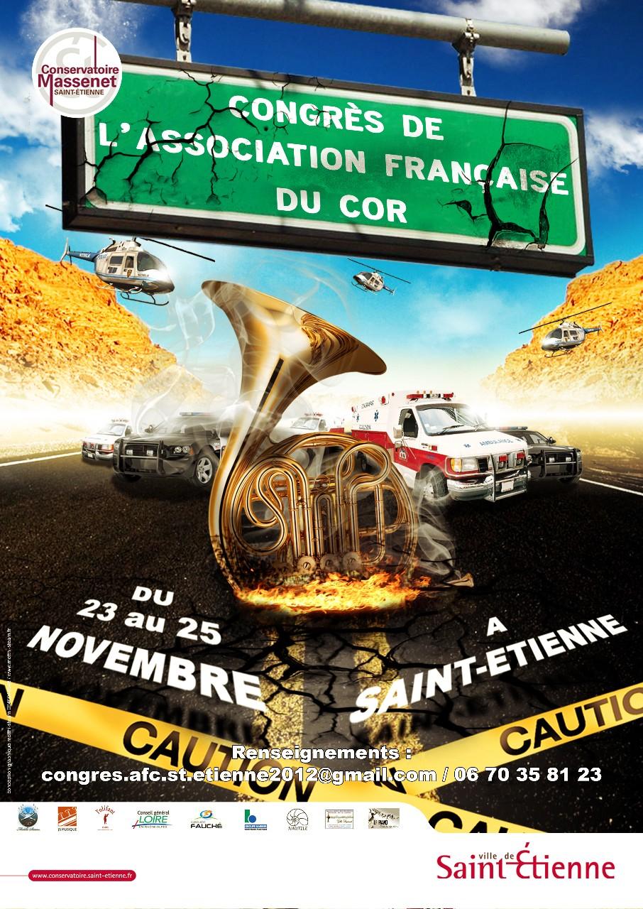 Congrès du Cor à St-Etienne du 23 au 25 Novembre