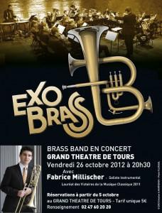 Vidéos du Concert ExoBrass à Tours avec Fabrice Millischer