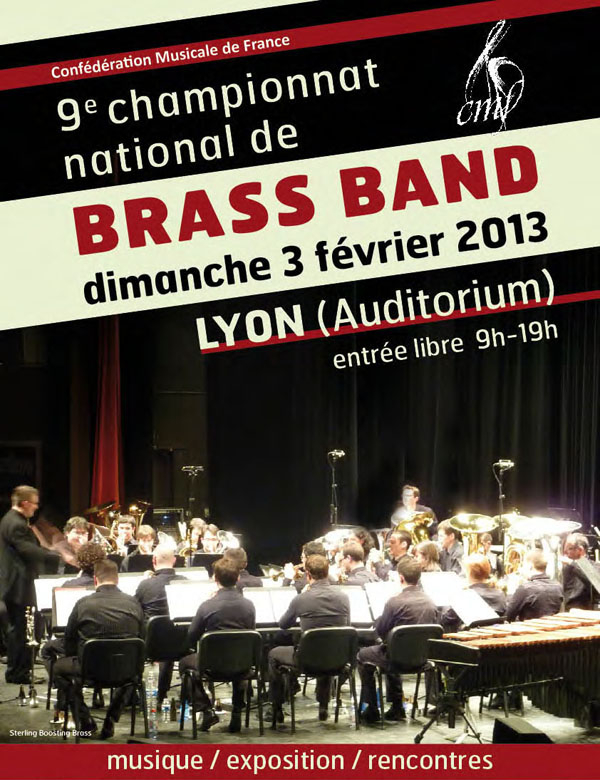 Championnat National de Brass Band 2013 à Lyon