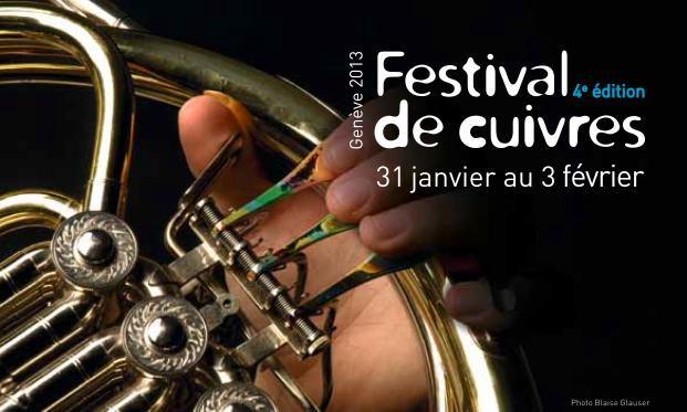 Geneva Brass Festival du 31 janvier au 3 Février 2013