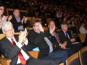 Ce dimanche 3 février, au-delà du résultat réconfortant pour chaque ensemble, ce qui est à noter c'est le ravissement et l'étonnement du président de l'EBBA Ulf Rosenberg présent à Lyon accompagné du secrétaire Carsten Hering Nielsen  et du trésorier Kurt Bohlhalter qui voit d'un bon œil et d'une bonne oreille la candidature de la France à accueillir d'ici trois ans la Compétition Européenne de Brass Band. Roy Terry