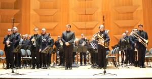Brass Band Loire Forez dirigé par Benoît Meurin