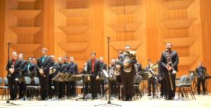 Brass Band Occitania dirigé par Lucas Mazères-Leignel