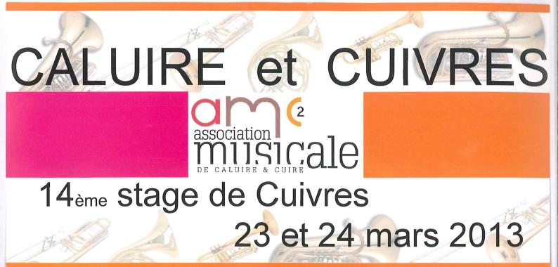 14ème stage Caluire et Cuivres le 23-24 Mars 2013