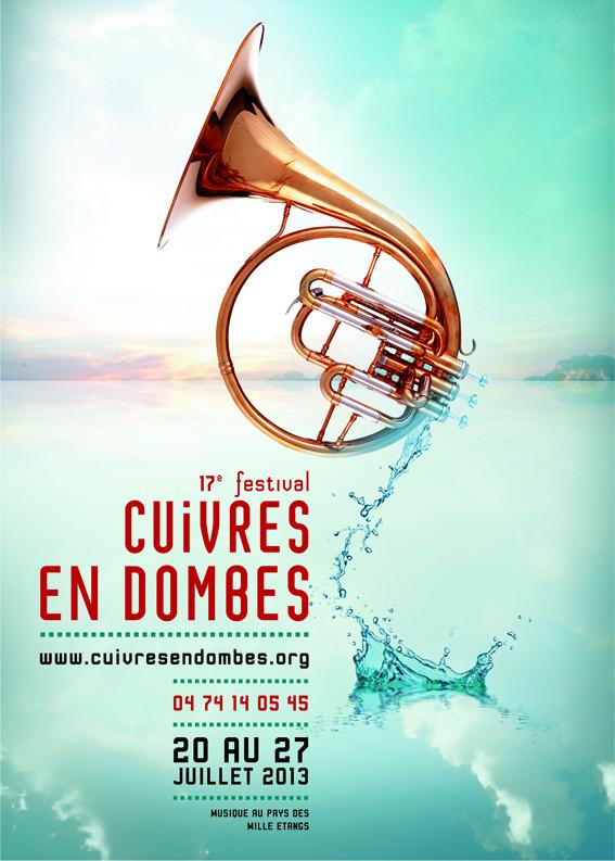 Cuivres en Dombes 2013 avec le Mnozil Brass, Allen Vizzutti et le Paris Brass Band…