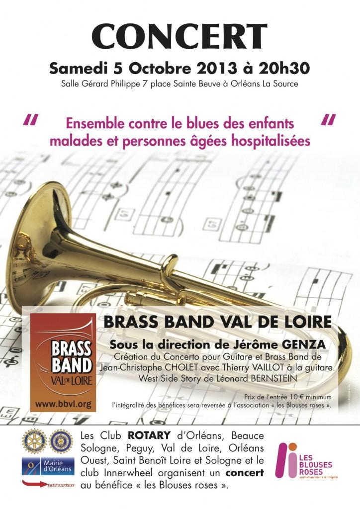 Le Brass Band Val de Loire en Concerts