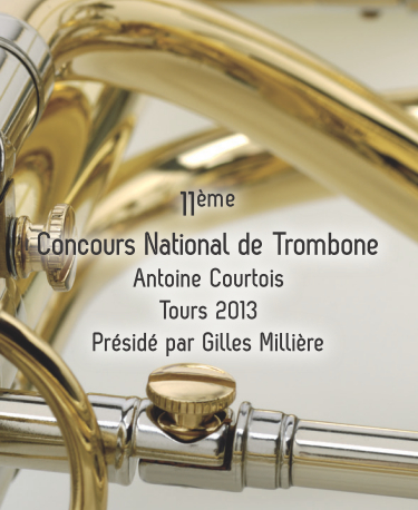11ème Concours National de Trombone Antoine Courtois à Tours