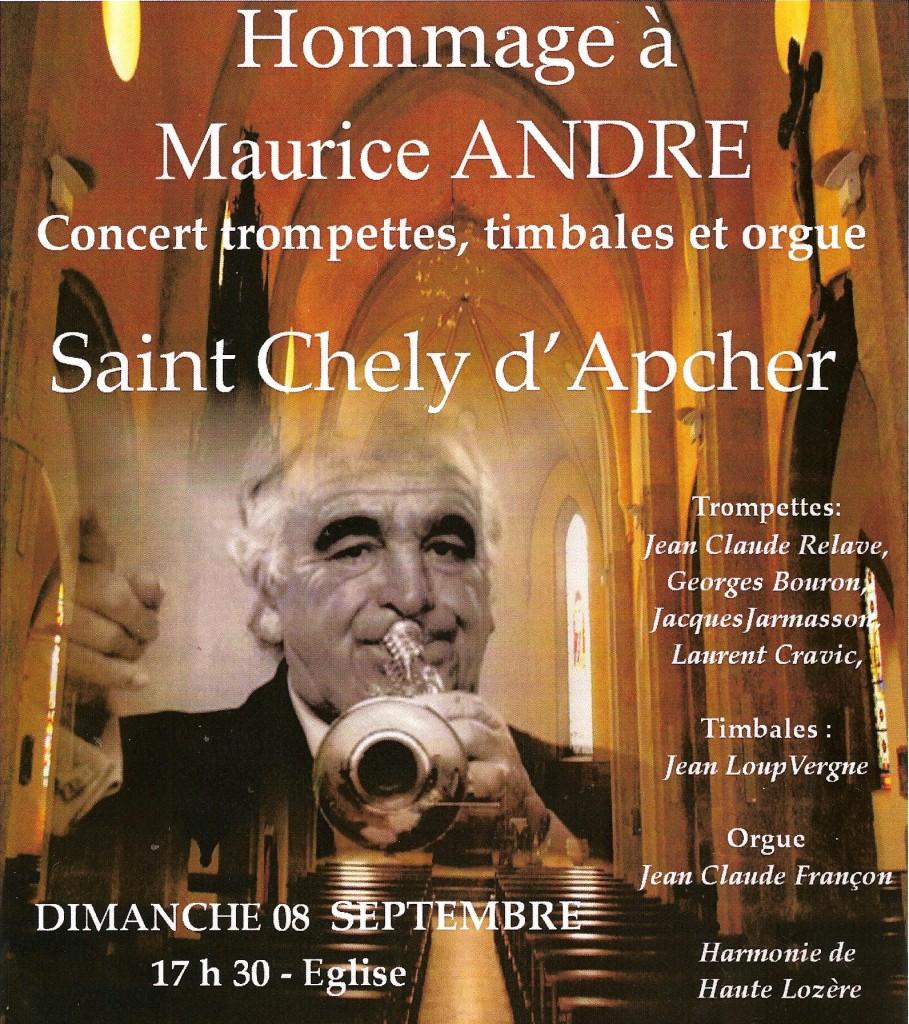 Maurice André poème «Trompettiste avéré»