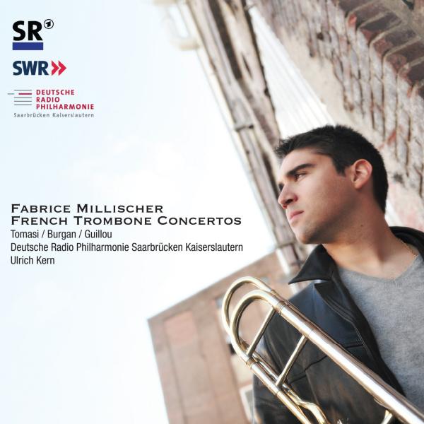 Nouveau CD de Fabrice Millischer: Concertos Français pour orchestre et trombone