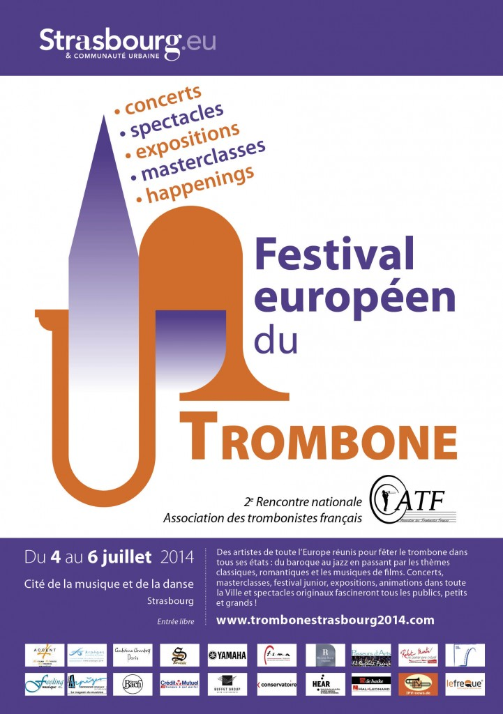 Festival Européen du Trombone à Strasbourg