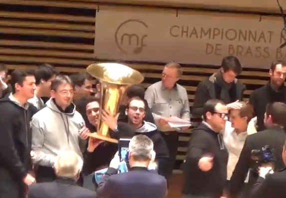 Paris au Top du Championnat National de Brass Band 2015