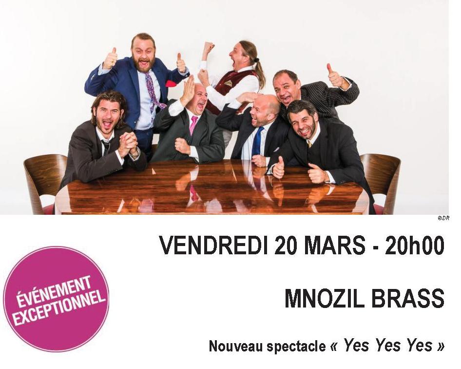Mnozil Brass à Nice le 20 Mars 2015