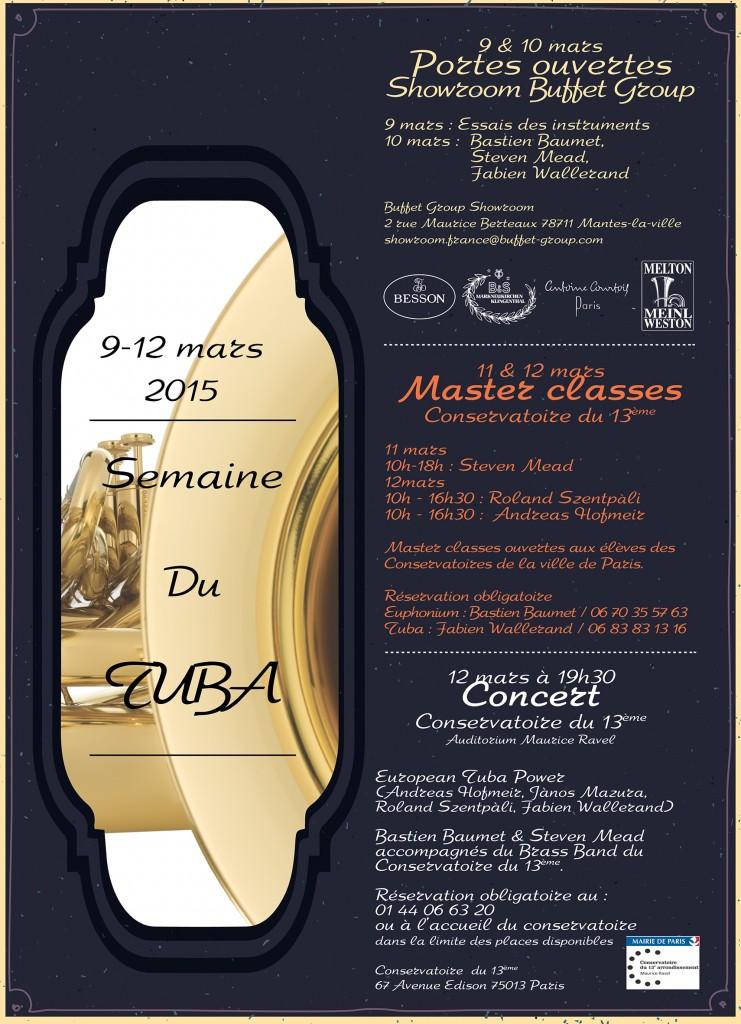 Semaine du TUBA 2015