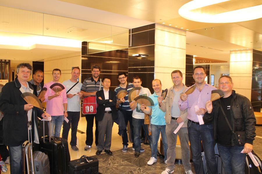 L'Ensemble de Cuivres de Belgique de retour du Japon
