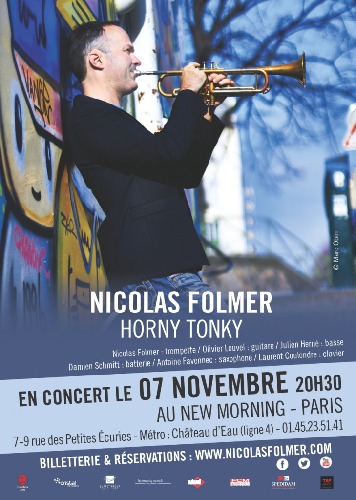 Nicolas Folmer au New Morning
