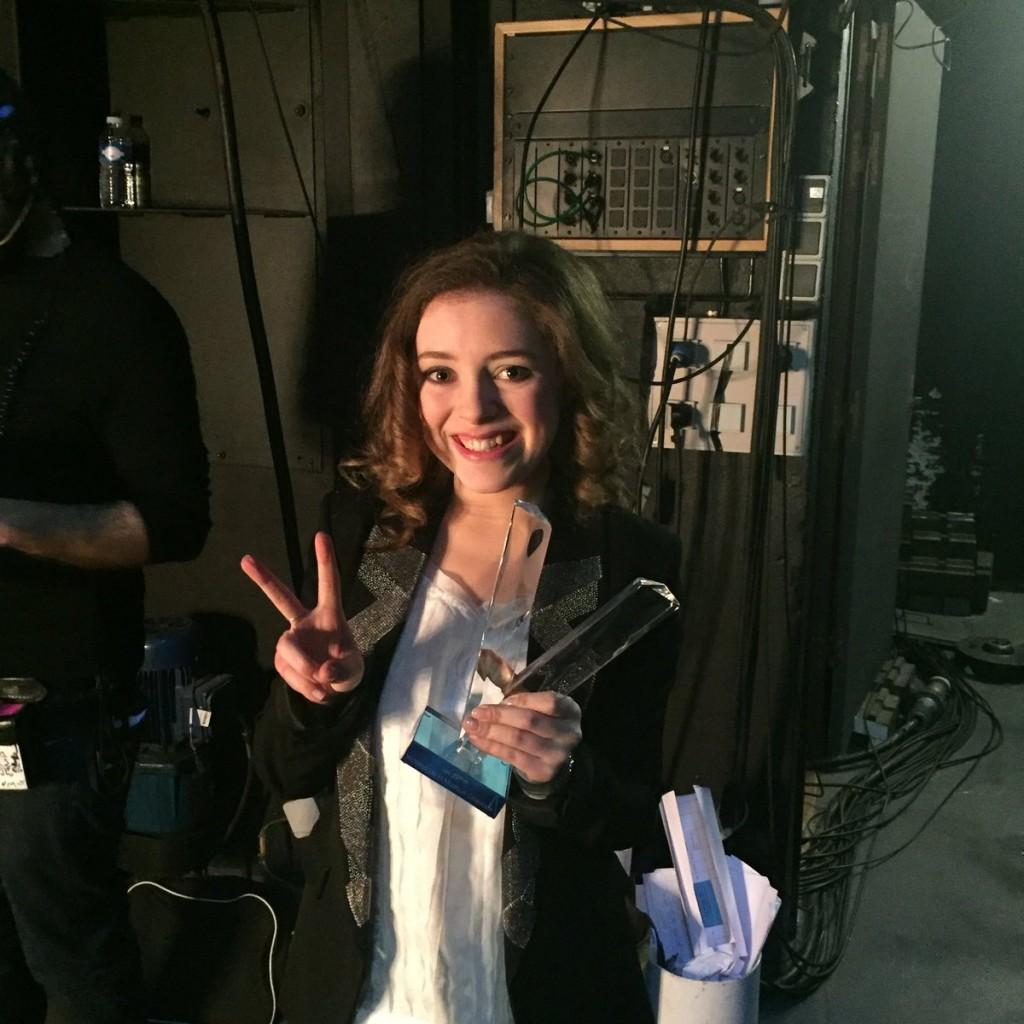 Victoires 2016: Lucienne bien sur !